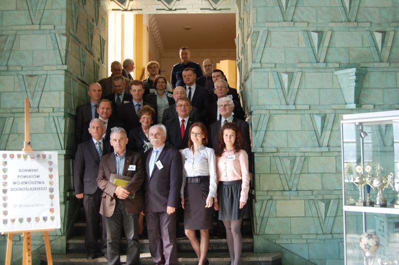 Posiedzenie Konwentu Powiatów Województwa Dolnośląskiego