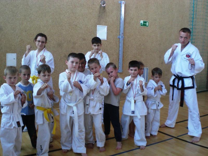 Sukces na Mistrzostwach Dolnego Śląska wTaekwondo