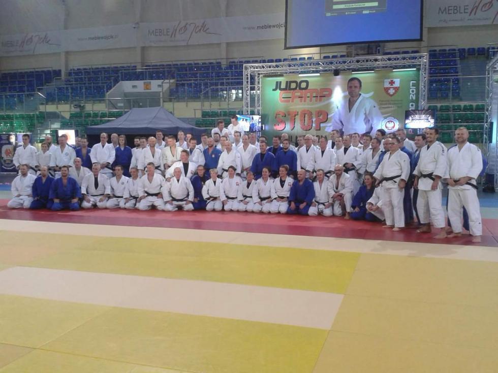 Judocy zSobótki uczestniczyli wWinter Training Camp Elbląg 2017
