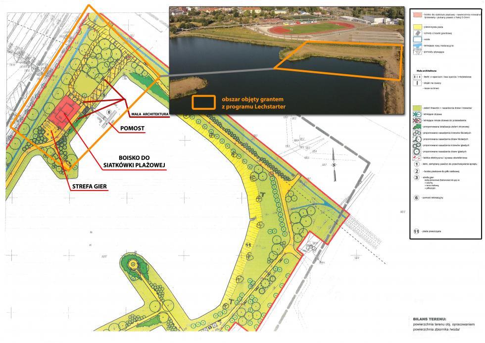 Gmina Siechnice walczy o100 000 zł na utworzenie kąpieliska