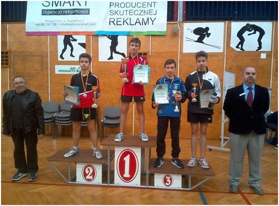 3 złote medale dla Jakuba Matkowskiego