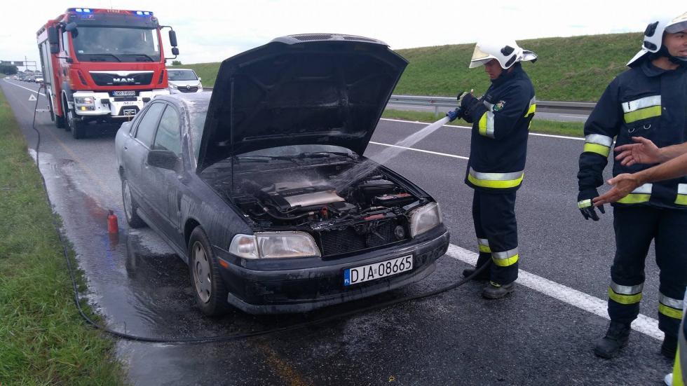 Wybuch aerozolu ipożar silnika
