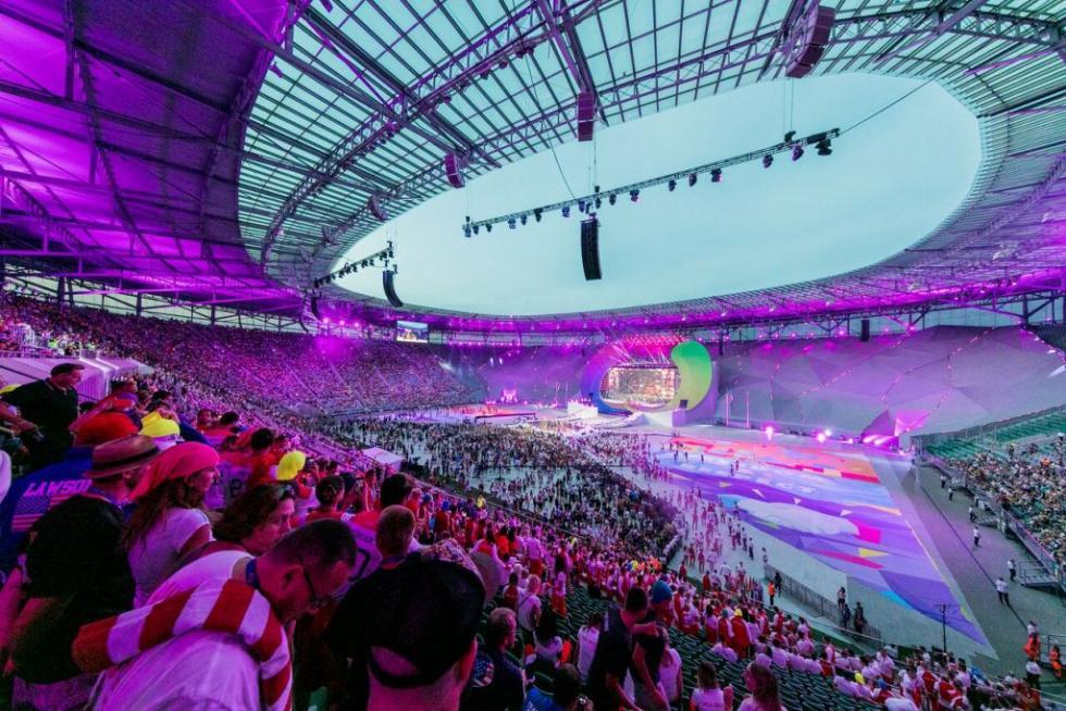240 tysięcy uczestników wydarzeń na 26 arenach iw strefie kibica