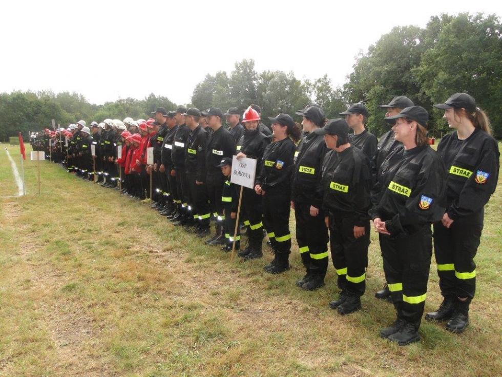 Zawody sportowo-pożarnicze Ochotniczych Straży Pożarnych z terenu powiatu wrocławskiego