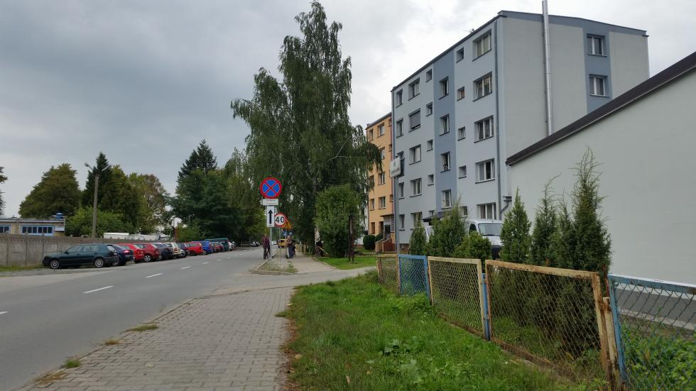 Nowe oświetlenie ulicy Wojska Polskiego wCzernicy