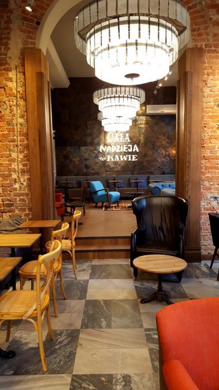 Podwójna moc Green Caffè Nero wcentrum handlowym Wroclavia