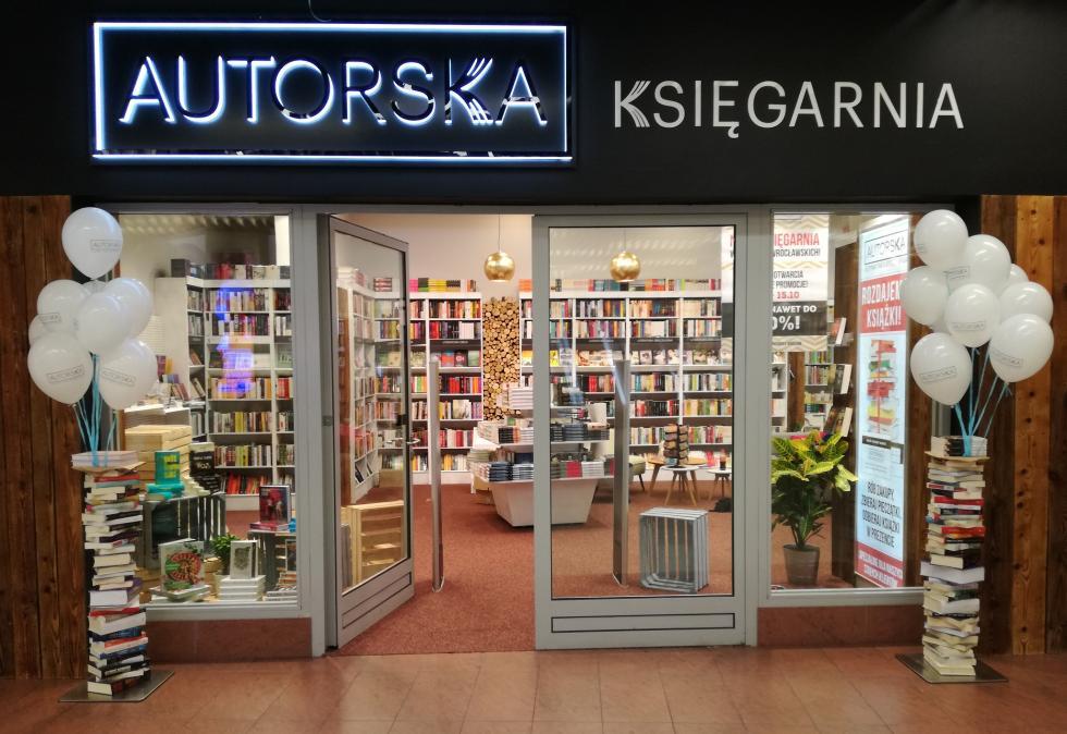 Autorska - nowa księgarnia wArkadach Wrocławskich