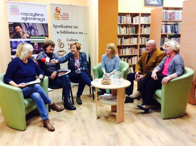 Radio Wrocław wGminnej Bibliotece Publicznej wCzernicy