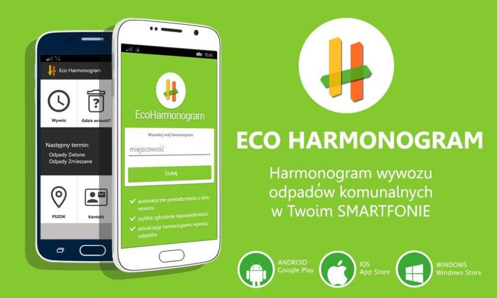 Eco harmonogram na telefon