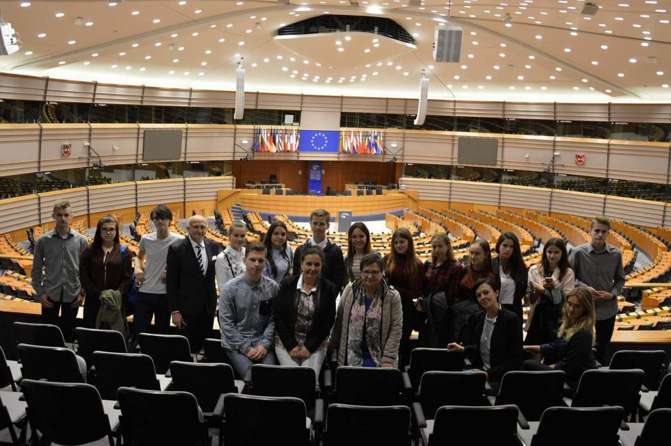 Młodzi radni wEuroparlamencie