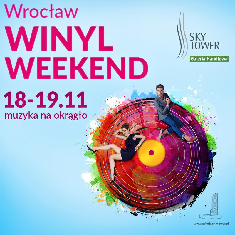 Wrocław Winyl Weekend w Sky Tower