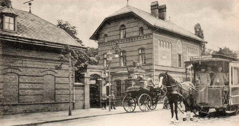 Tramwajem konnym przez Wrocław