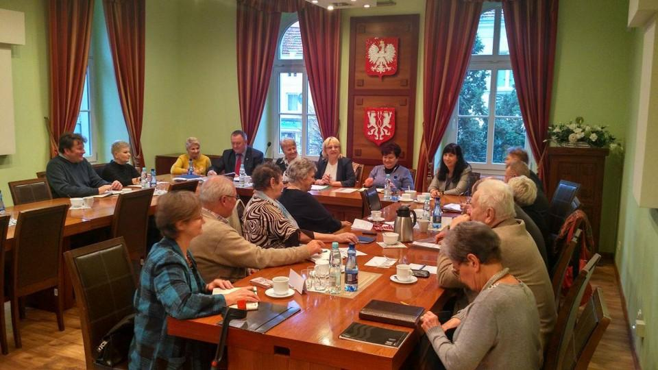 Sesja Gminnej Rady Seniorów wKątach Wrocławskich