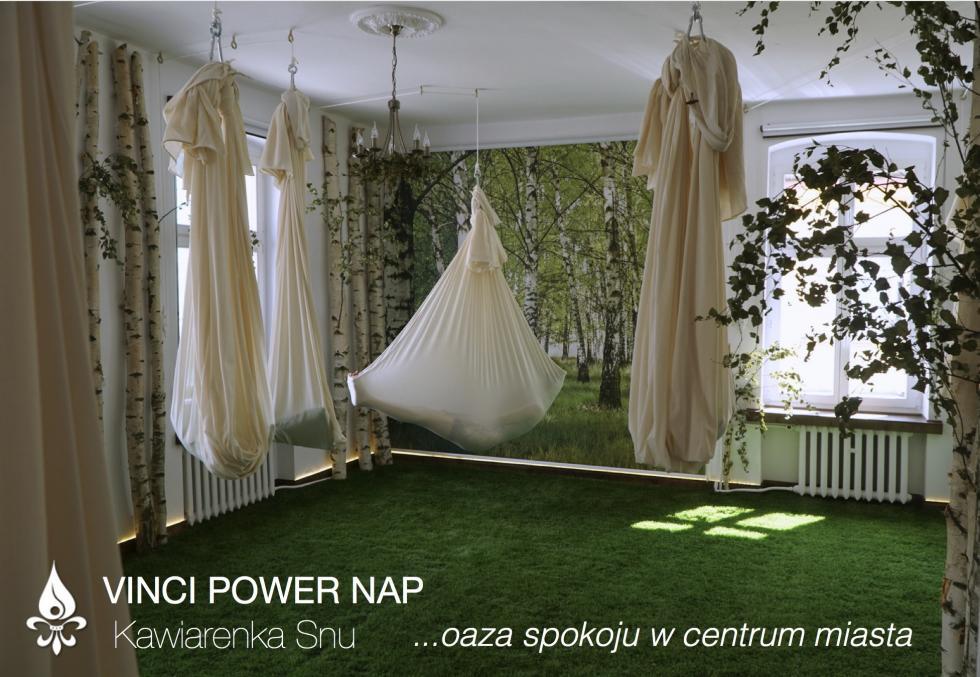 """Pierwsza wPolsce """"Vinci Power Nap - Kawiarenka Snu"""" powstała weWrocławiu"""