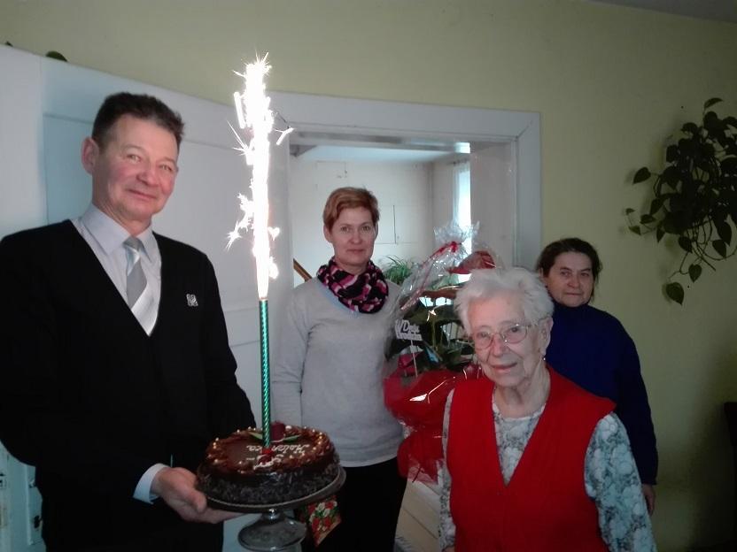 95 urodziny Pani Heleny Kardas