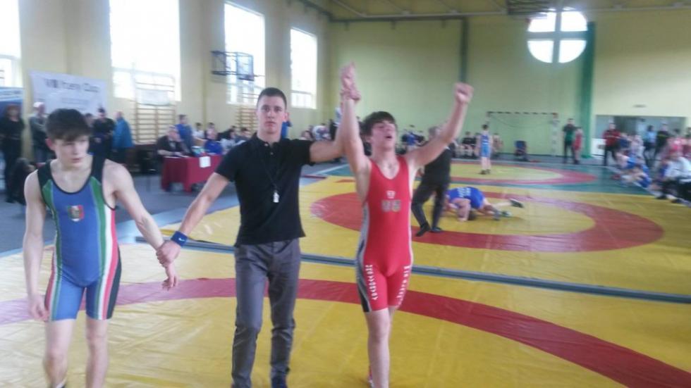 Dwa złota ibrąz zapaśników zgminy Kąty Wrocławskie na Międzynarodowym Turnieju