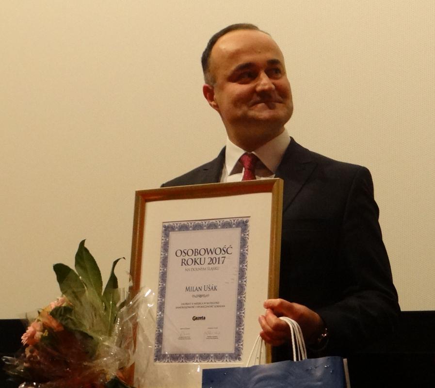 Burmistrz Milan Ušák wybrany