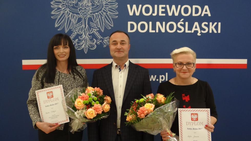 Gratulacje dla Pań Sołtysek: Trestna-Blizanowic iOzorzyc
