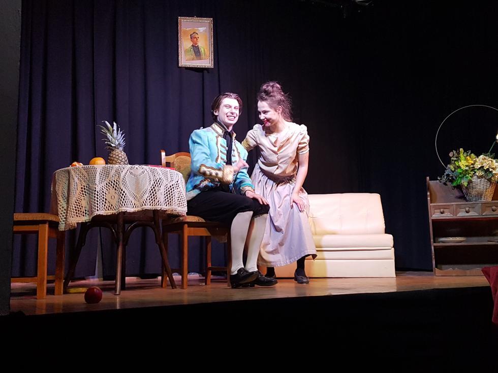 Spektakl teatralny wStarym Śleszowie