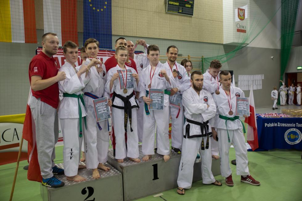 Świetny występ naszych zawodników na zawodach Teakwondo