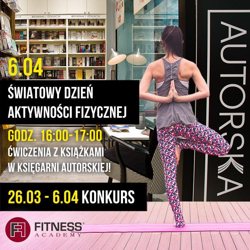 Fitness zksiążką wKsięgarni Autorskiej wArkadach Wrocławskich