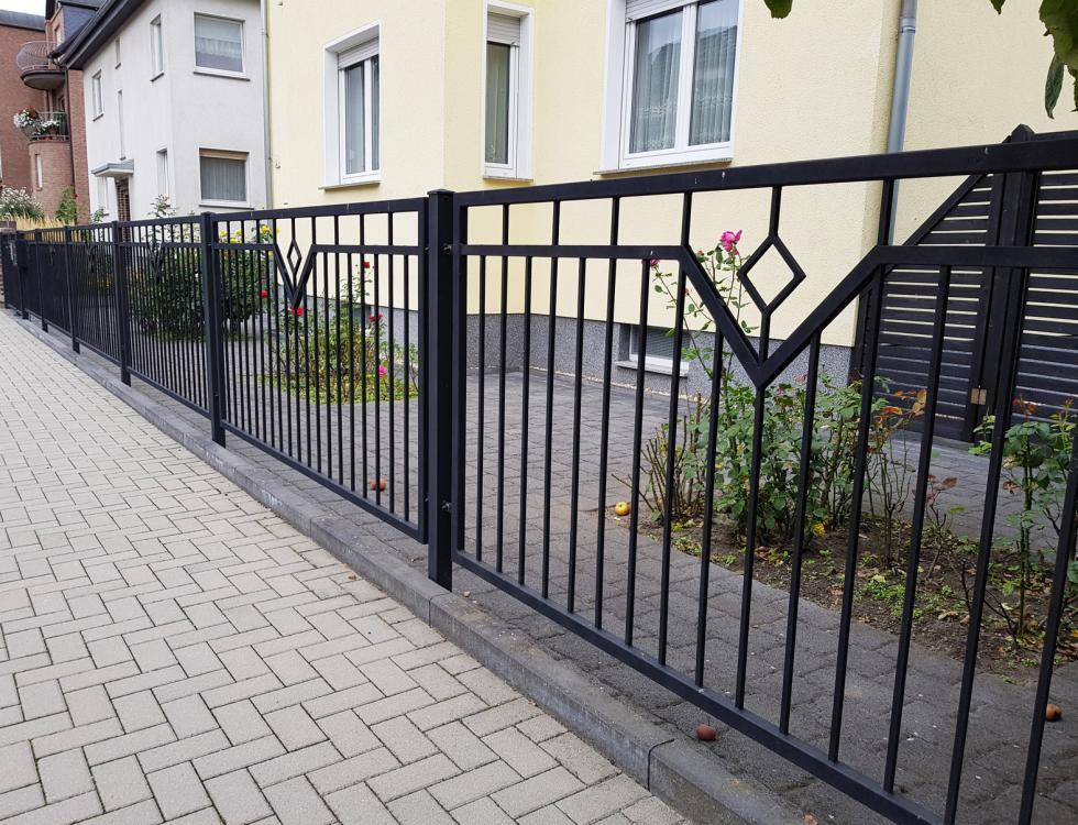 Ogrodzenia metalowe na posesje
