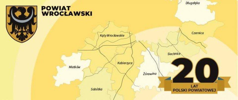 Nasz powiat na 20-lecie Polski Powiatowej