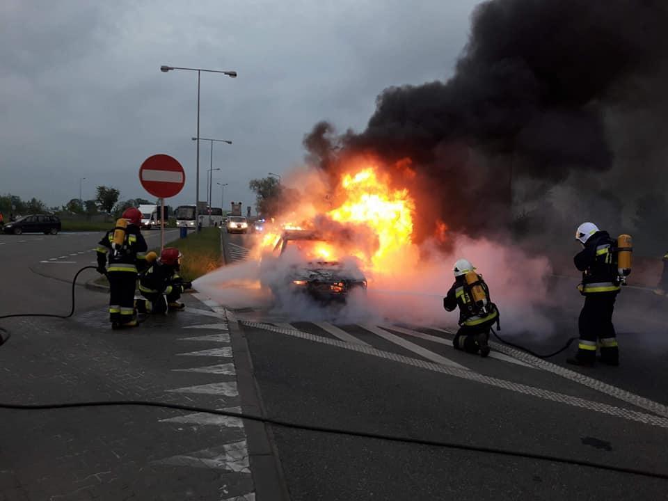 Ogień na A4 – kłopot zkorytarzem życia