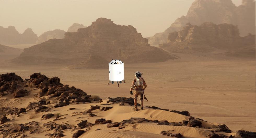 Studencki lądownik bliżej Marsa