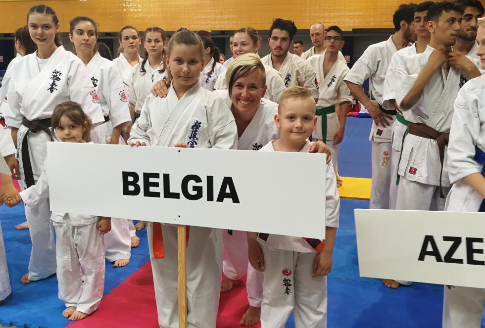 Nasi na Mistrzostwach Europy Karate Shinkyokushinkai Juniorów iSeniorów