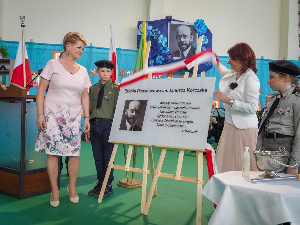 Szkoła Podstawowa wWysokiej imienia Janusza Korczaka!
