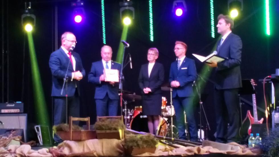 Podziękowanie dla gminy Czernica
