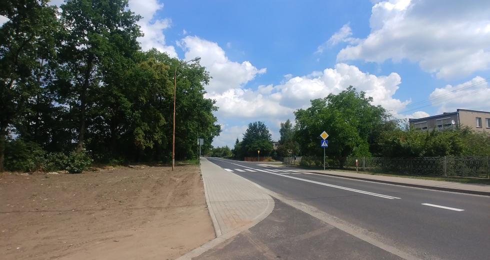 Gmina Czernica współfinansuje budowę chodnika wKamieńcu Wrocławskim