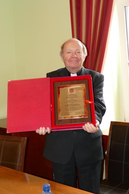 Honor dla księdza Ryszarda Reputały