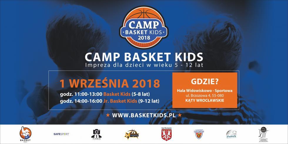 Trwają zapisy na tegoroczny CAMP BASKET KIDS 2018