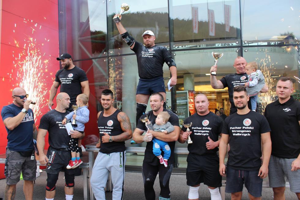 Mariusz Pachut zdobył Puchar Polski Strongmanów