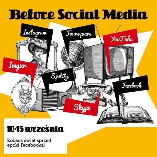 """""""Before Social Media"""" – przenieś się wczasie zGalerią Dominikańską"""