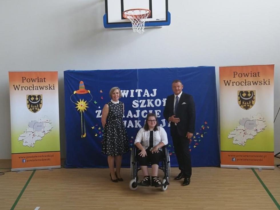 Nowy obiekt szkolny wSOSW wKątach Wrocławskich