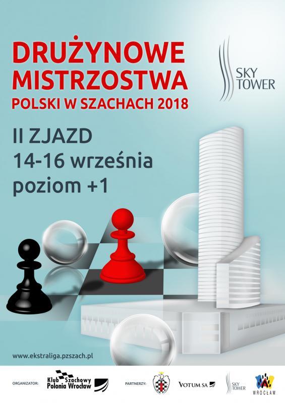 II zjazd Drużynowych Mistrzostw Polski wszachach wSky Tower