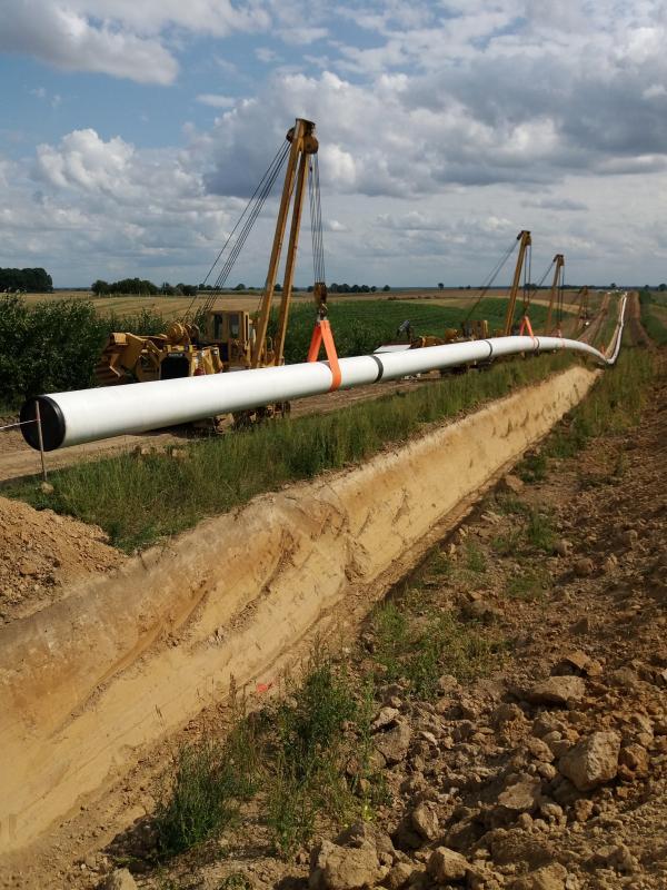 Budimex ukończył budowę gazociągu Czeszów – Kiełczów