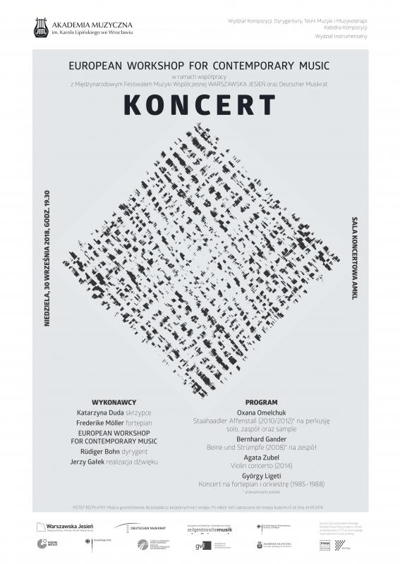 Koncert wramach XVI edycji European Workshop for Contemporary Music