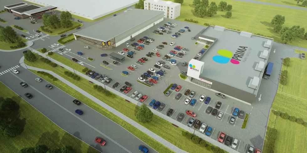 W Siechnicach powstanie centrum handlowe wraz ze sklepem Lidl
