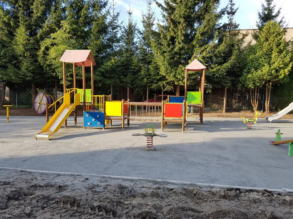 Przebudowa przedszkolnego placu zabaw