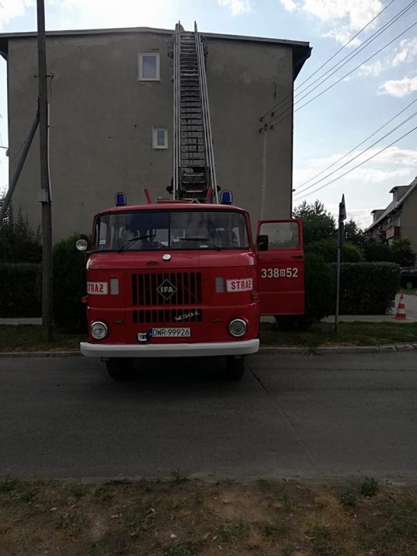 Na sprzedaż wóz strażacki