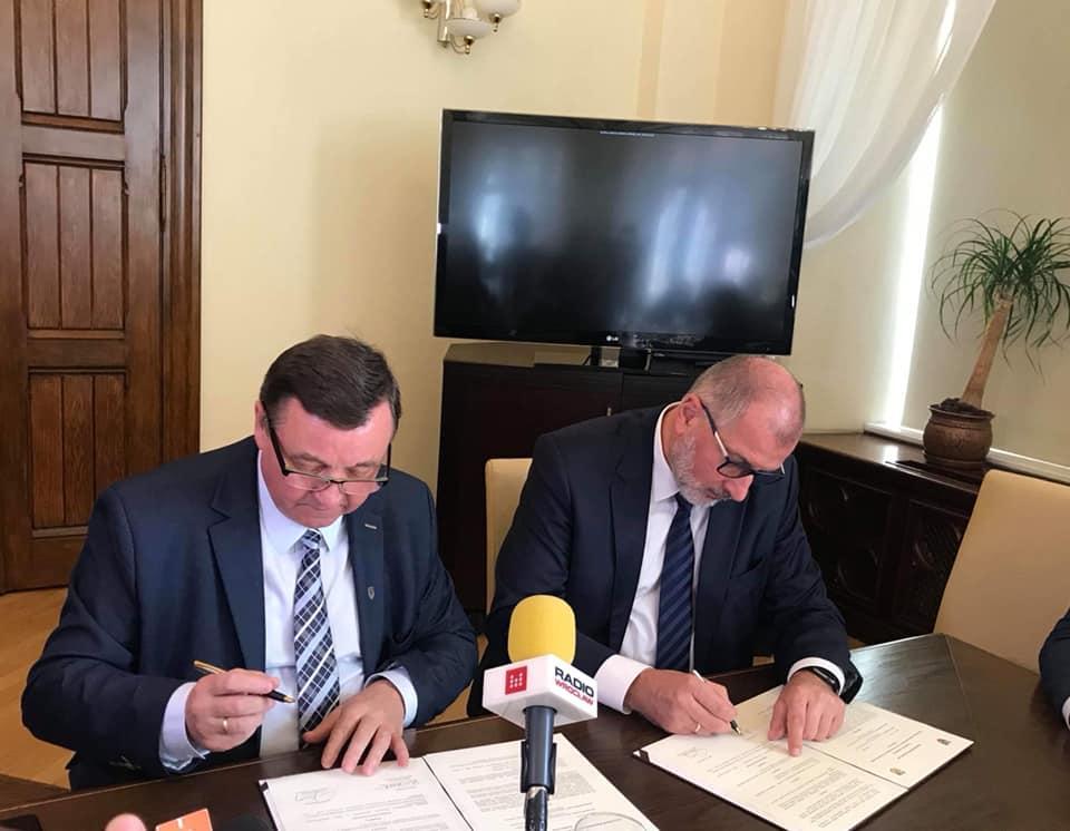 Porozumienie wsprawie linii tramwajowej podpisane