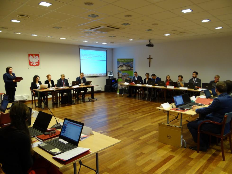 Pierwsza sesja Rady wnowej kadencji