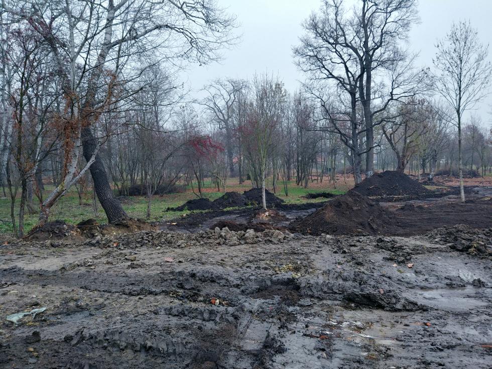Rewaloryzacja parku oraz ruin dawnego dworu wSmolcu