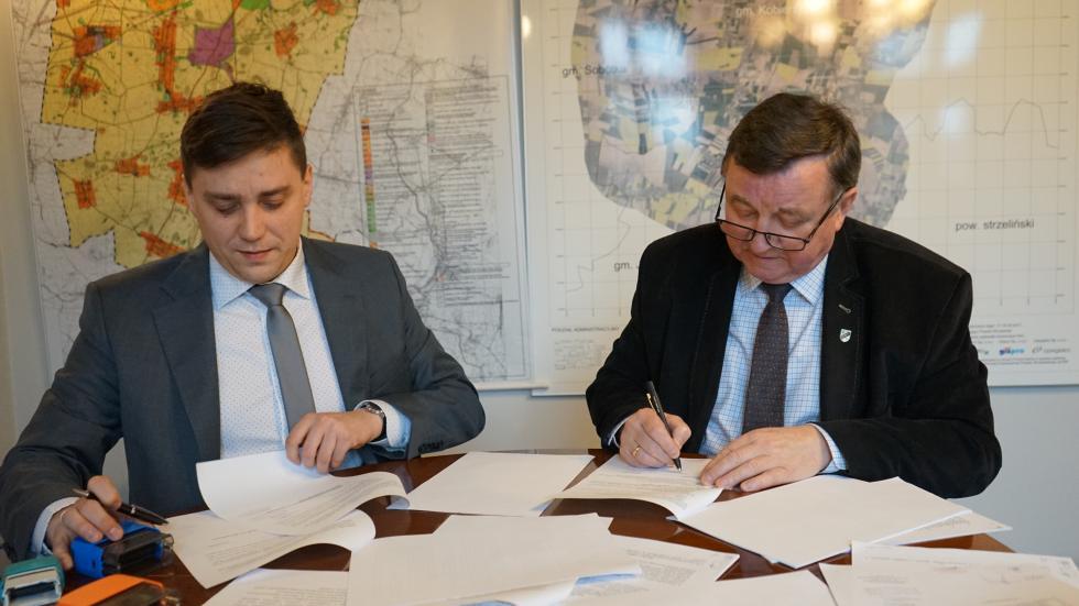 Podpisanie umowy omonitoringu