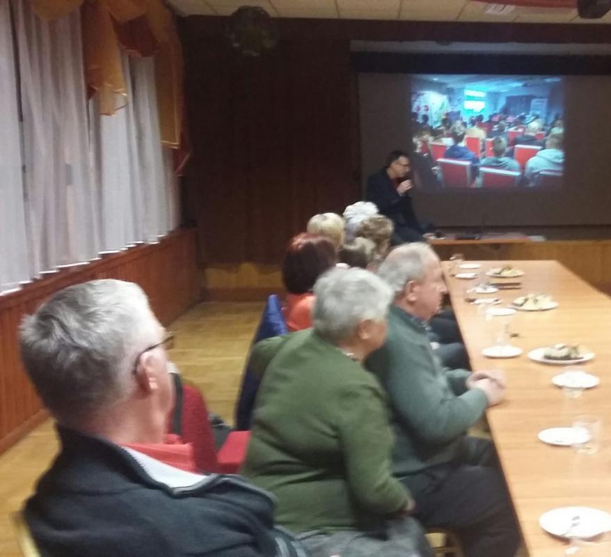 Spotkanie wKlubie Seniora wMietkowie