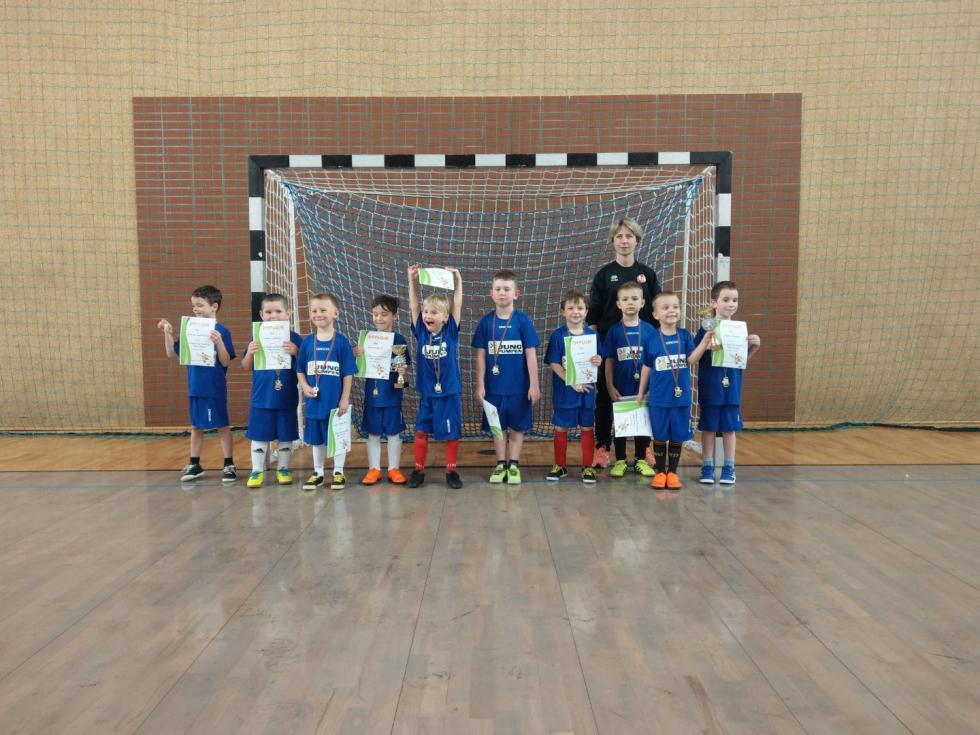 Mini turniej dla najmłodszych piłkarzy